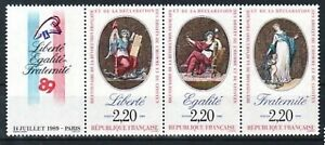 STAMP-TIMBRE-FRANCE-NEUF-N-T2576-REVOLUTION-TRIPTYQUE