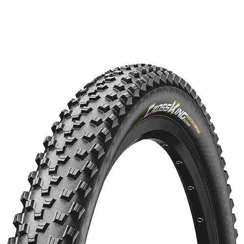 Continental 58-559 Cross King 2.3 TL-Ready e-25 diversidad negro Performance