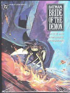 BATMAN BRIDE OF THE DEMON HC TPB FIRST PRINT RAS A GHUL 1990 DC COMICS MIKE BARR