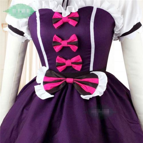 Anime Love Live Sunshine Aqours Tsushima Yoshiko Fallen Angel Cosplay Costume