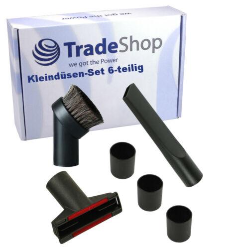 3 Adapter Düsen-Set Fugendüse Polsterdüse Möbelpinsel Staubsaugerdüse 32+35 mm