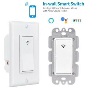 IFTTT-Smart-Home-WiFi-Wall-Light-Switch-Alexa-Google-For-IOS-Android-APP-Control