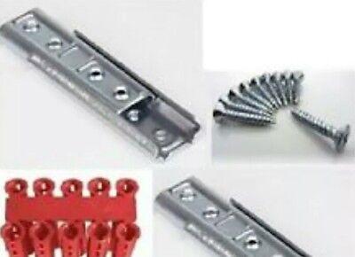 Clips de montaje para MDF de rodapi/é con 40/mm y 60/mm de altura