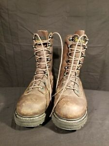 Browning-Brown-Leather-Hunting-work-Boots-Mens-Size-7-5M