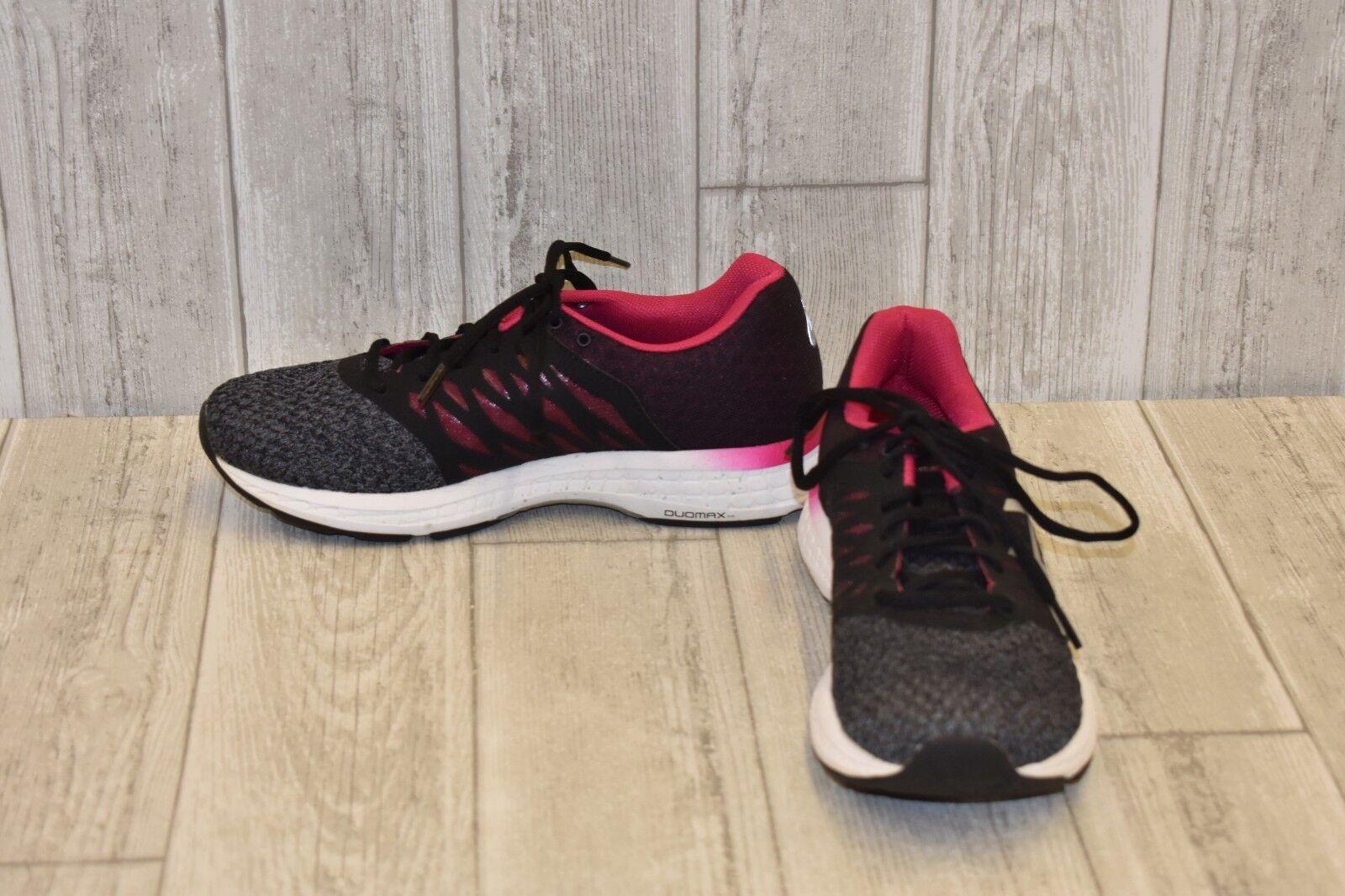 Asics Gel Exhalt 4 Sneaker-Women's Size 8 Carbon Silver Pink