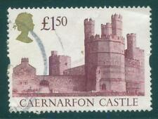 [JSC] 1992 GB. Royal Mail £1.50 High Value Caernarfon Castle stamp