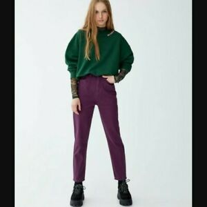Pull And Bear Violet Mom Jeans. NWOT