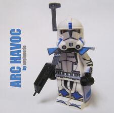 LEGO Custom Clone Trooper - Havoc - commander mini figure rex cody Havok ARC