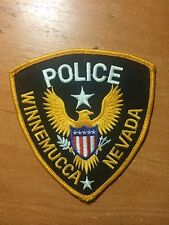 VINTAGE PATCH POLICE WINNEMUCCA - NEVADA state