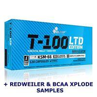 OLIMP T-100 LTD Limited Edition 120 Caps DAA TESTOSTERONE TESTO BOOSTER