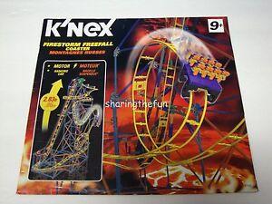 K'nex 51539 firestorm freefall coaster instruction manual knex.