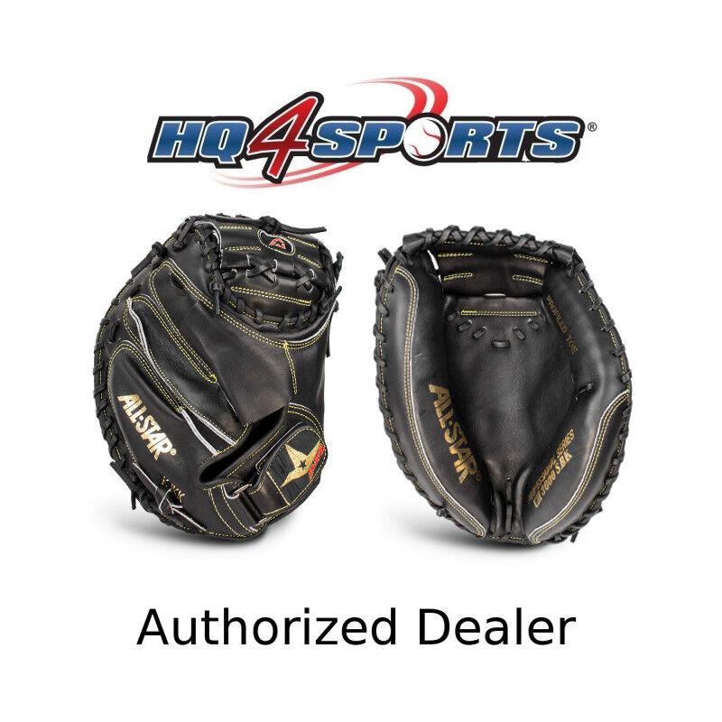 All-Star Pro-Elite CM3000SBK 33.5 Inch Adult Baseball Catcher's Mitt -RHT