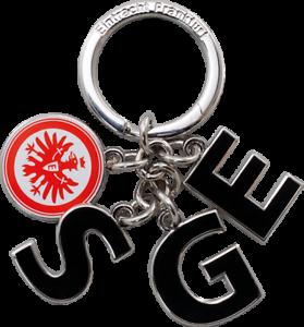 """Eintracht Frankfurt Schlüsselanhänger """"SGE"""""""