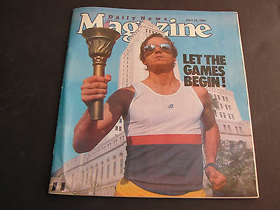 Removing Obstruction Los Angeles Olympics-let The Games Begin! July 22 1984 Daily News Magazine