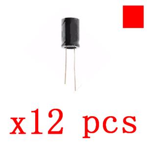 12//445//1420 PCS 25V 1000UF//25V1000UF 105C Radial Electrolytic Capacitor 10x17mm