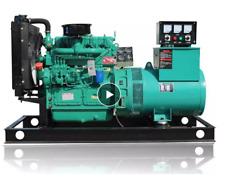 40kw Military Generator Engine Diesel Quiet Standby Brush Alternator Genset