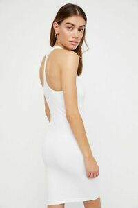 New-Free-People-Seamless-Racerback-Slip-Bodycon-Nylon-Dress-Womens-Xs-L-34