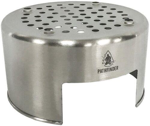 Pathfinder Bush Pot Stove Use Above a Coal Pot As Bio Stove or w//Alcohol Stove