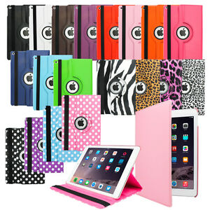 For Apple iPad 2 3 4 360 Rotating Magnetic PU Leather Case Smart Cover Stand /3014374