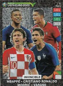 Panini-Road-to-Euro-2020-Adrenalyn-XL-Rare-Fans-Multiple-Rising-Auswahl-choose