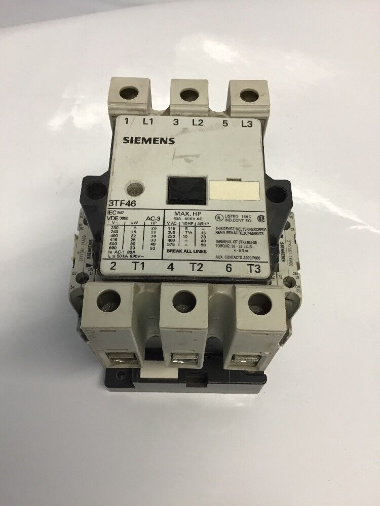 Siemens Leistungsschütz 3TF3000-0AM0 4 kW // 400 V AC220V 3 HP Top!! AC-3 20 A