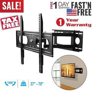 Full-Motion-TV-Wall-Mount-Bracket-37-40-42-46-50-52-55-60-65-70inch-LED-LCD-Flat