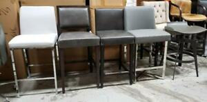 Grey Island Bar n Kitchen Counter Height Stools in Many Shades and Styles @ ARTeFAC Toronto (GTA) Preview