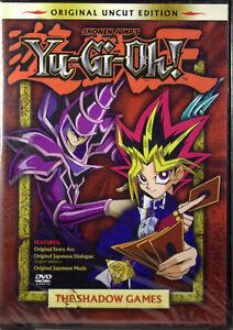 YU-GI-OH-L-039-OMBRA-GAMES-VOL-1-Nuovo-DVD-Originale-Uncut-Edition-Childrens-SERIE