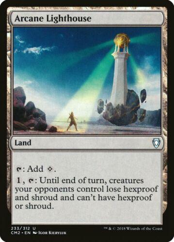 Commander Anthology 2 MTG Uncommon Arcane Lighthouse x 1 NM