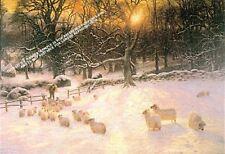 Acortamiento inviernos día por Joseph farquarson Ilustraciones Por Selby Impresiones