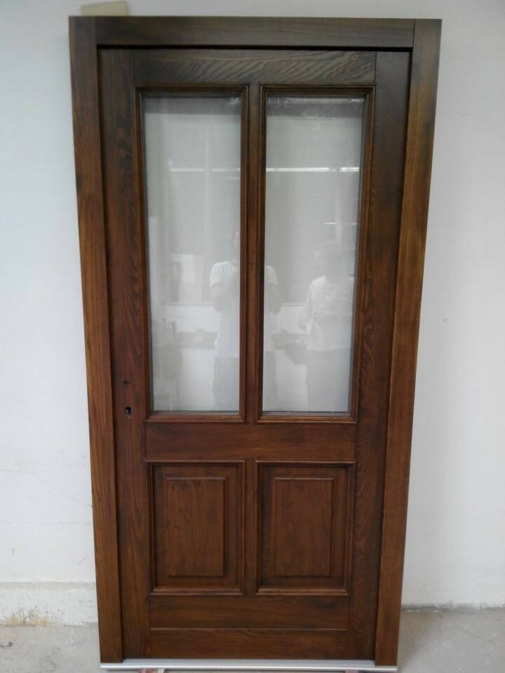 Holz Haustür Haustüre HAUSTÜREN Kiefer Holztür Stärke 68 mm Eingangstür