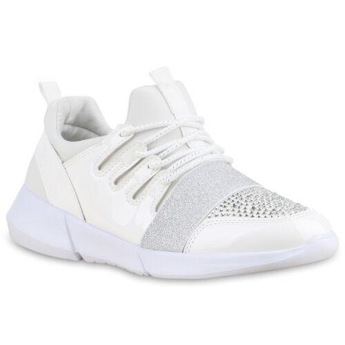 Damen Sportschuhe Laufschuhe Lack Runners Sneakers 815449 Schuhe