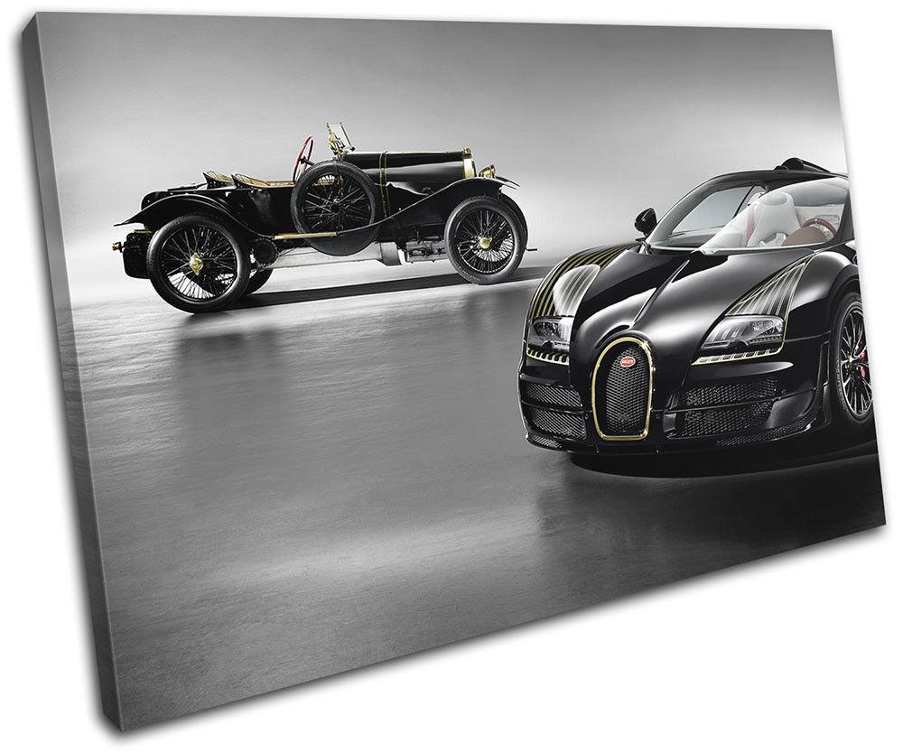 Bugatti Veyron Cars SINGLE Leinwand Kunst Bild drucken