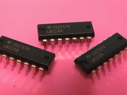 Lm324n quad Amplificateur Opérationnel Ic x 3 pieces-Texas Instruments