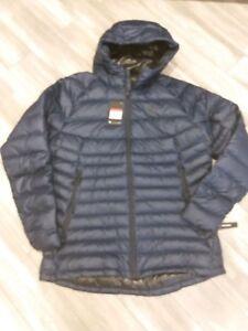 1e8fcef1c4ef Nike NSW Down Fill Guild Hooded Jacket Blue Men s (866027-451)