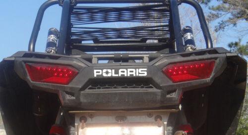 Polaris RZR 1000 Front Rear bumper decal inserts xp 2013 2014 2015 2016 2017