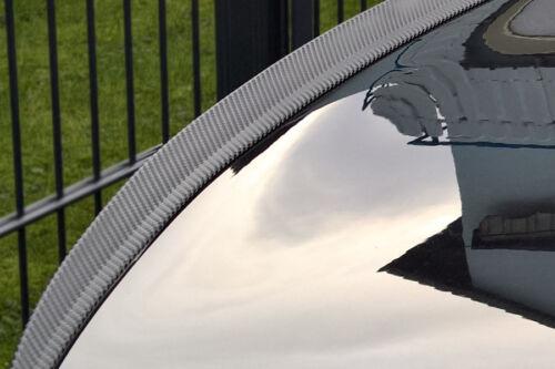 für BMW X6 E71 E72 tuning spoiler hecklippe CARBON look Slim lip becqeut levre