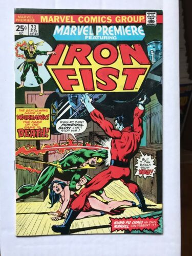 Marvel Premiere #23 Iron Fist 6.5