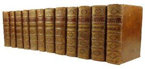 1701-Calendar-Saints-Martrys-etc-Complete-12-volumes-Vies-des-Saints-Baillet