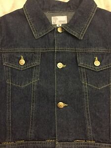 Authentic-Versace-Young-Denim-Jacket-for-girl-size-6-New