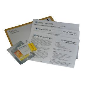 Food-Intolerance-Test-64-Foods-Tested-Home-Allergy-Testing-Kit-STD-Postal-Pack