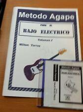 Metodo Agape Para El Bajo Electrico Spanish Book /CD