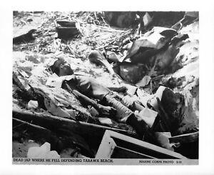 075-Vintage-USMC-Photo-Tarawa-Operation-Offical-Photo-5-18
