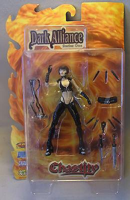 Chaos Comics Action Figur Dark Alliance CHASTITY 2001 OVP