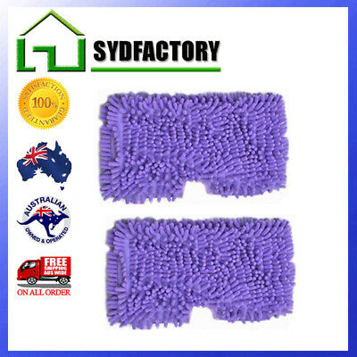 2X Microfiber Mop Cleaning Pads For Shark Steam S3501 S3601 S3550 S3901 AU STOCK