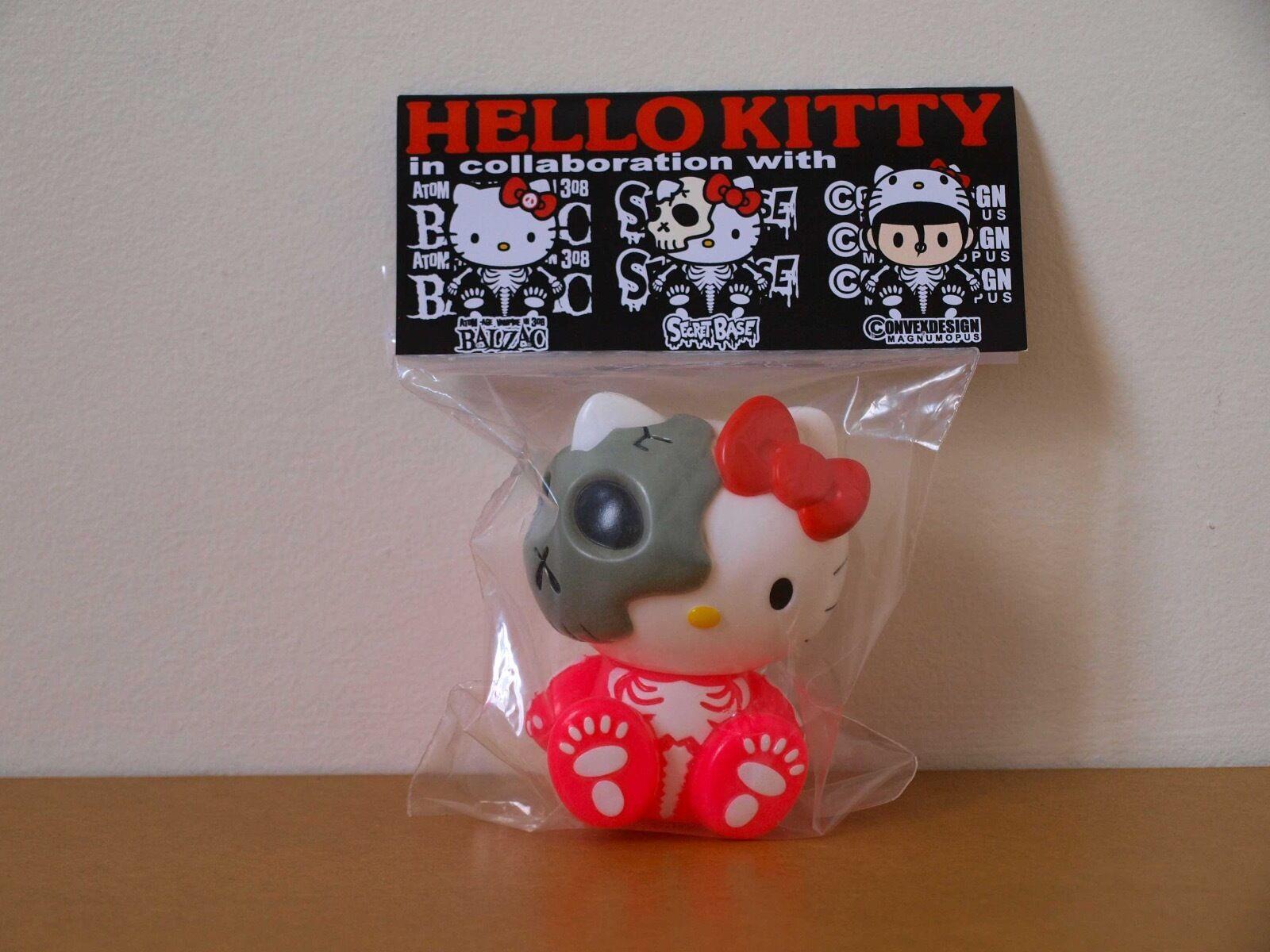 Hello Hello Hello Kitty Balzac Secret Base Rosa Sanrio Collectible Sofubi 4ad6dc