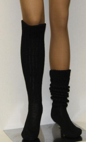 Long Large Slouch Scrunchie to Knee Socks Heavy Warm Hooters Uniform Women/'s