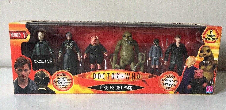 Character Options Doctor Who  Serie 1  6 cifra Regalo Confezione Set-Cina Abito Grigio  online economico