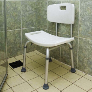 Elderly Bathtub Bath Tub Shower Seat Chair Bench Stool