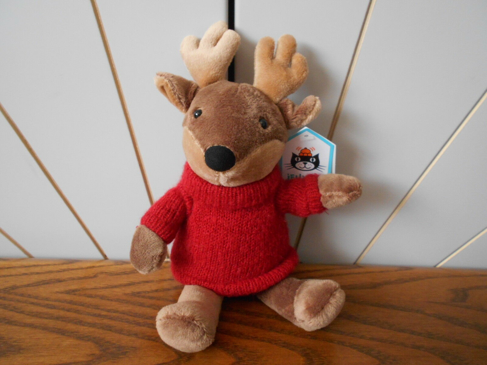I AM TOASTIE REINDEER beanie soft toy JELLY CAT Jellycat J2901 new Christmas